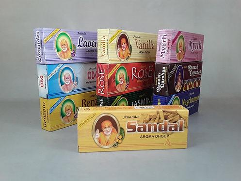 Sahumerio Ananda Dhoops