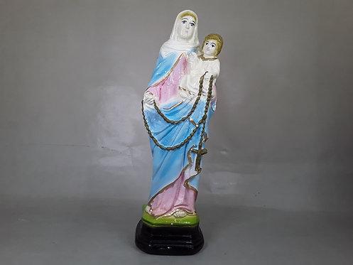 Virgen Rosario de San Nicolás - Yeso 20cm