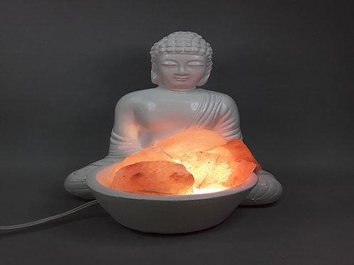 Lámpara de sal - Buda Descanso