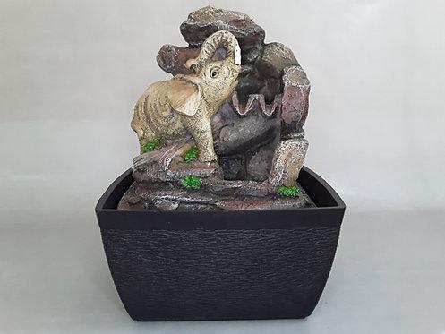 Fuente c/Led Elefante - A300073
