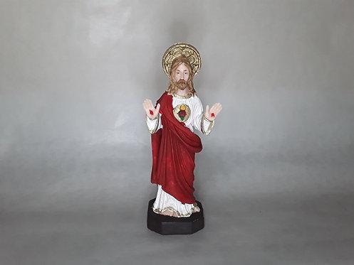 Sagrado Corazón de Jesús - PVC 16cm