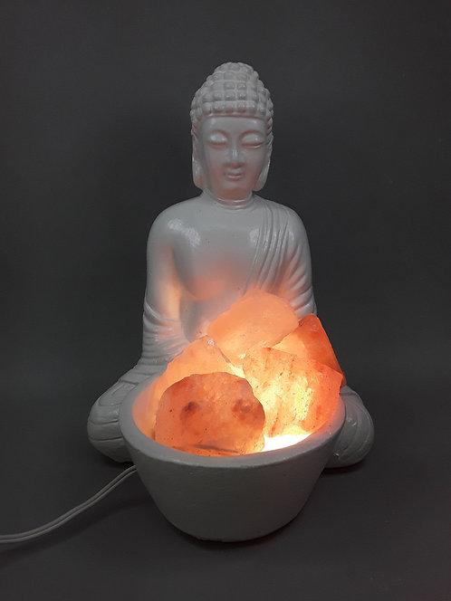 Lámpara de sal - Buda