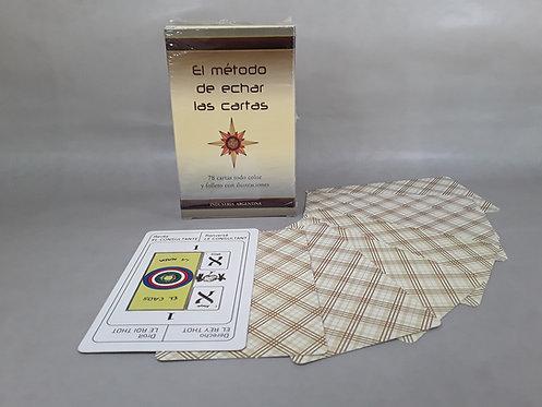 """Cartas de Tarot """"El método de echar las cartas"""""""