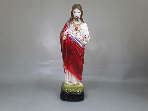 Sagrado Corazón de Jesús - Yeso 25cm