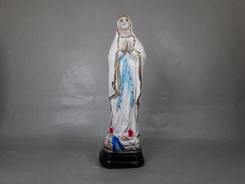 Nuestra Señora de Lourdes - Yeso 15cm