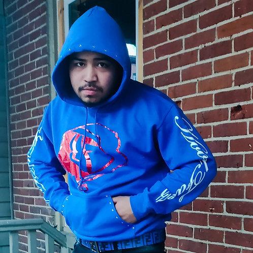 Blue HoodFaceZ Hoodie