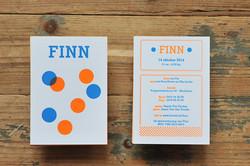 birth card Finn