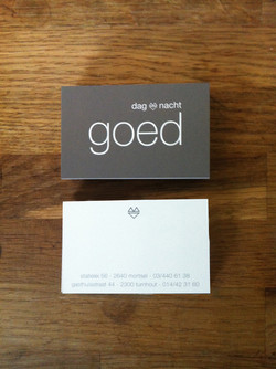 goed business cards