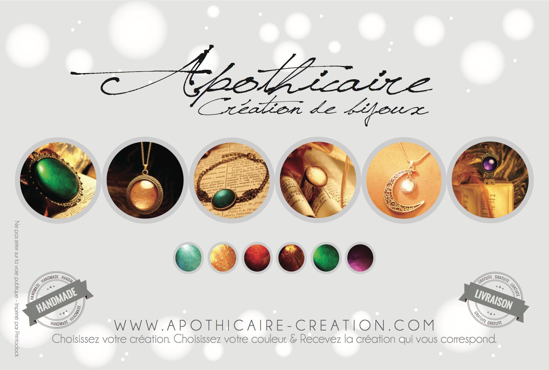 Flyer Apothicaire Création