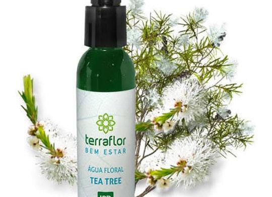 ÁGUA FLORAL  TEA TREE- 120 ML - TERRA FLOR