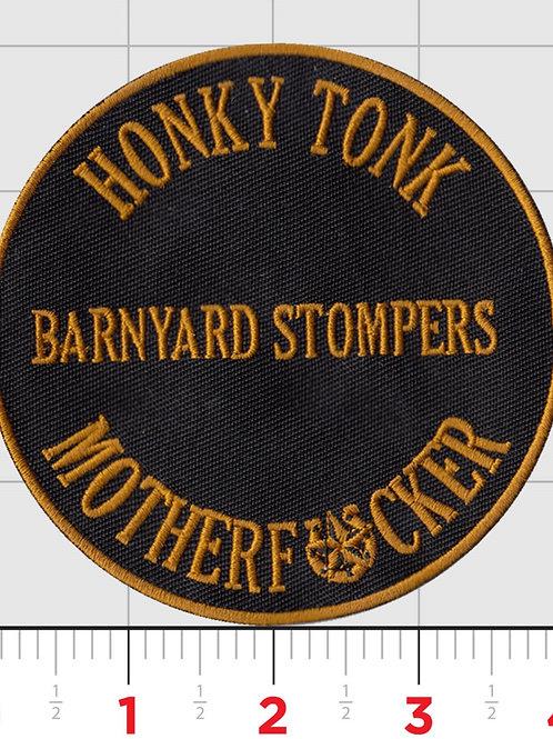 Honky Tonk Motherfucker Iron on Patch