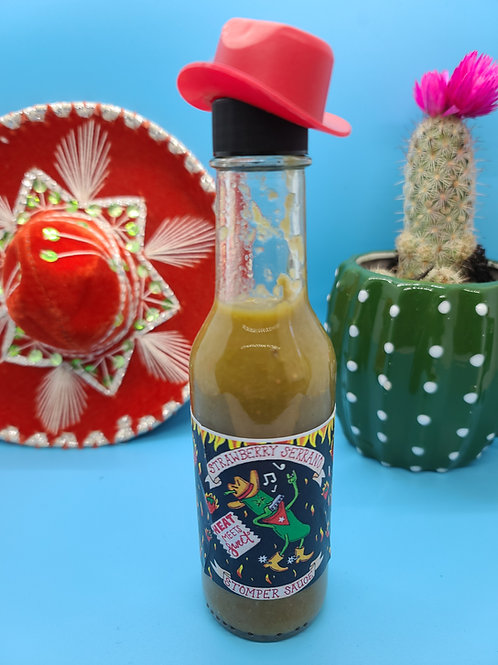 Strawberry Serrano Stomper Sauce