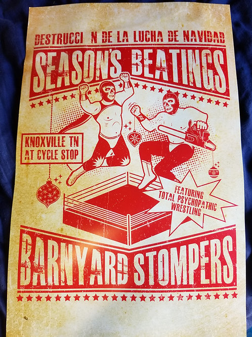 *Limited Edition* Seasons Beatings 11x17 Poster