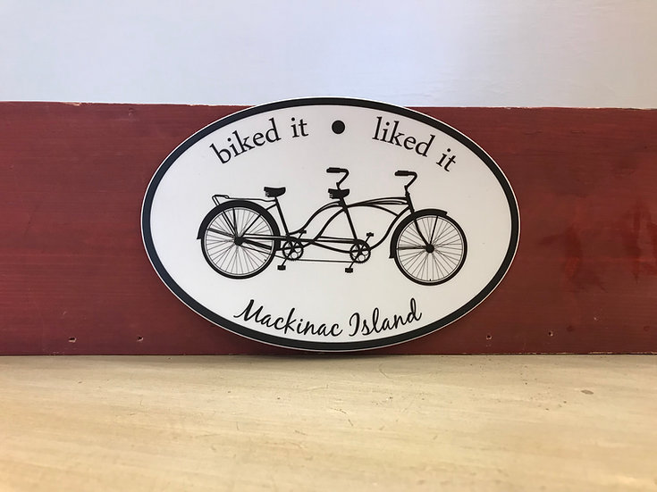 Sticker - Tandem Bike