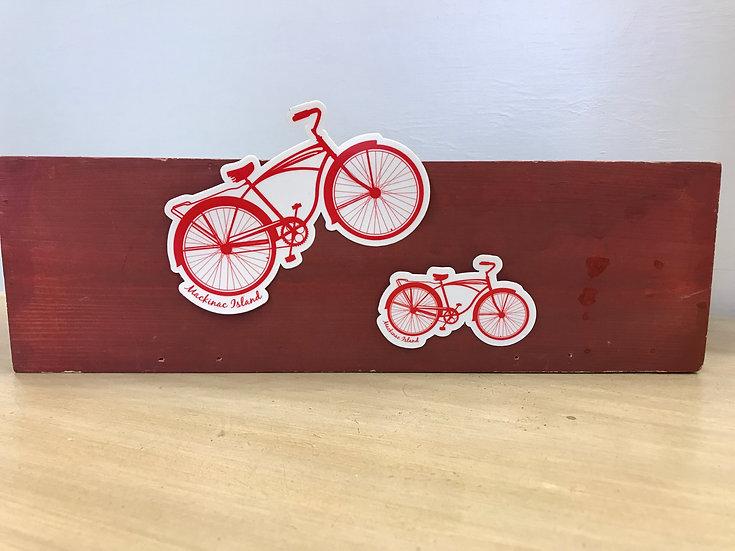 Sticker - Red Bike