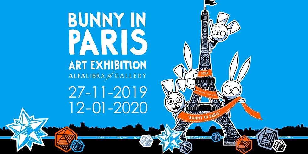 """Cartoon Called Life"" by Juraj Straka : ""BUNNY IN PARIS"""