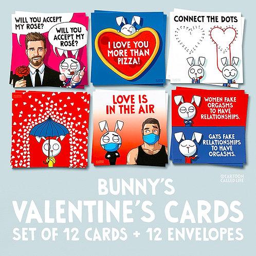 BUNNY'S LOVE CARDS