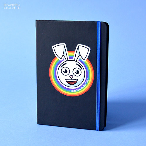 NOTEBOOK 'RAINBOW BUNNY'