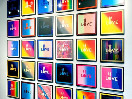 A unique art installation celebrating diversity within diversity