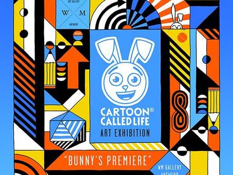 BUNNY'S PREMIERE ! ART EXHIBITION