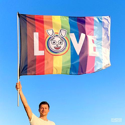 PROGRESS FLAG 'LOVE'