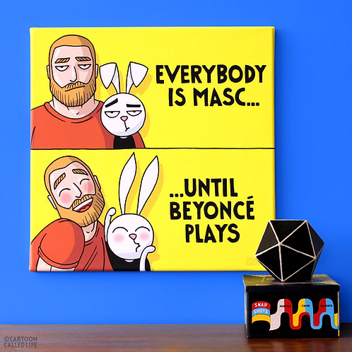 CANVAS 'EVERYBODY IS MASC'
