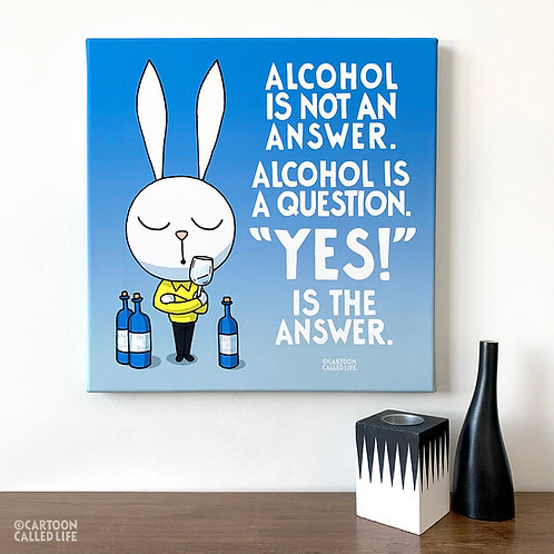 CANVAS 'ALCOHOL'