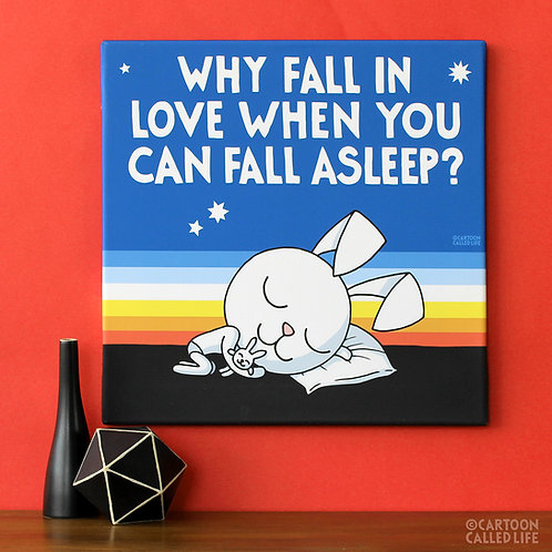 CANVAS 'FALL ASLEEP'