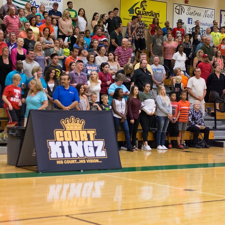 COURT KINGZ 4 THE KING BARTOW HIGH SCHOOL