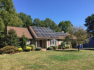 Grid-Tied Solar Home