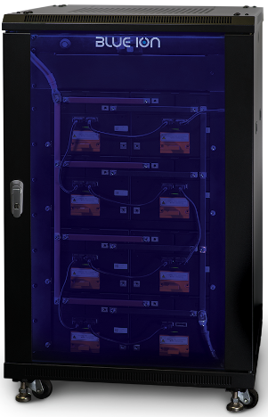 Blue Ion Solar Storage Battery