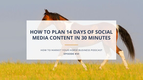 How to Plan 14 Days of Social Media Content in 30 Minutes