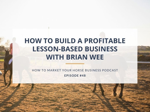How to Build a Profitable Lesson-Based Business With Brian Wee
