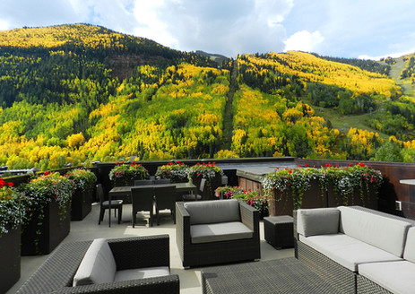 View from Penthouse Deck in the Fall