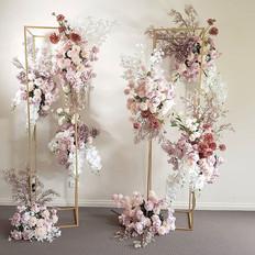 Our most popular flower stands wedding setup.