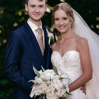 Grace and Byran Bridal bouquet