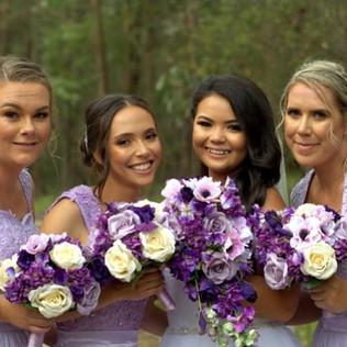 Artificial silk custom wedding flowers d
