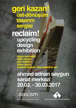 reclaim - upcycing design exhibition