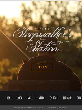 Web design| Official Site Sleepwalker's Station.