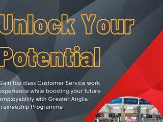 Central Training partners with Greater Anglia for Traineeship Scheme