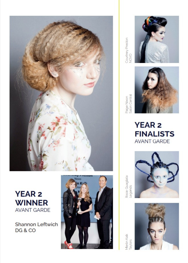 "Year 2 ""Avant Garde"" Winner and Finalists"