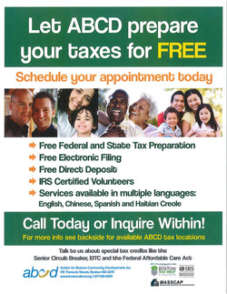 BEFORE: tax assistance flyer