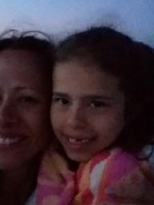 Jaime and Zoe, Moonlight Walk, Outer Banks, May 2019