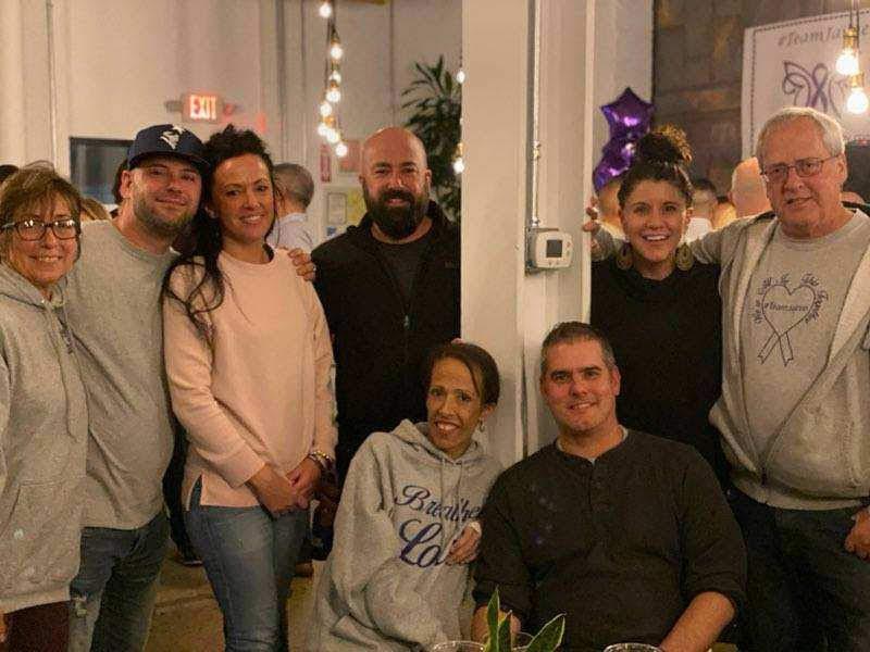 Ellen, Corey, Melissa, Jeff, Jaime, Jay, Toni, Gary