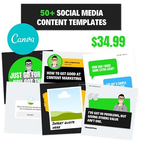 Social Media Content Templates