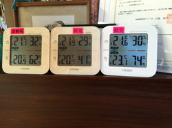 室温湿度管理