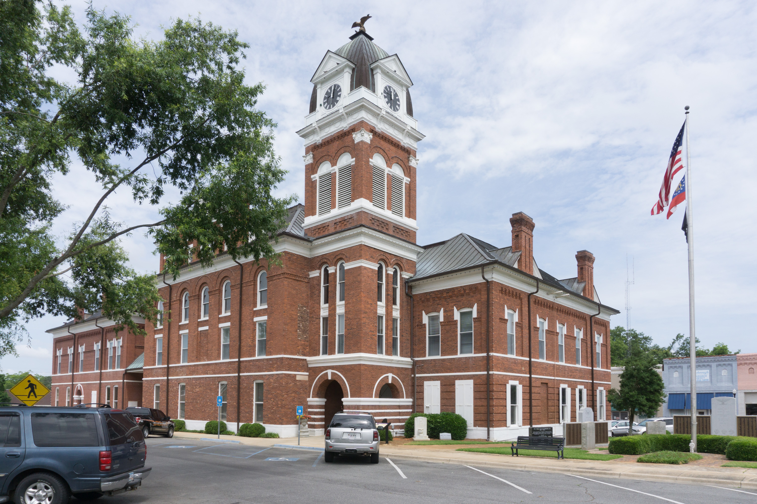 Washington_Sandersville_courthouse3