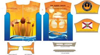 Ra Kura Rebel Legion Raceshirt design