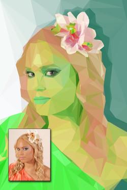 Emerald girl - tomjanka.com