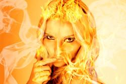 Fire girl - tomjanka.com